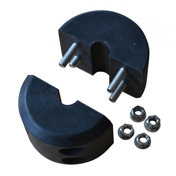 Warrior Rubber Removable Winch Stopper 8mm-12mm