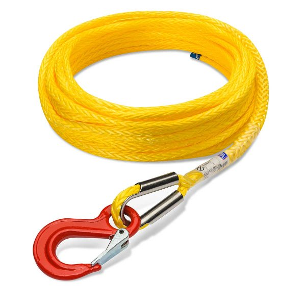 Novoleen Synthetic Winch Rope Offroad 3,4 t Ø 6mm L: 20m