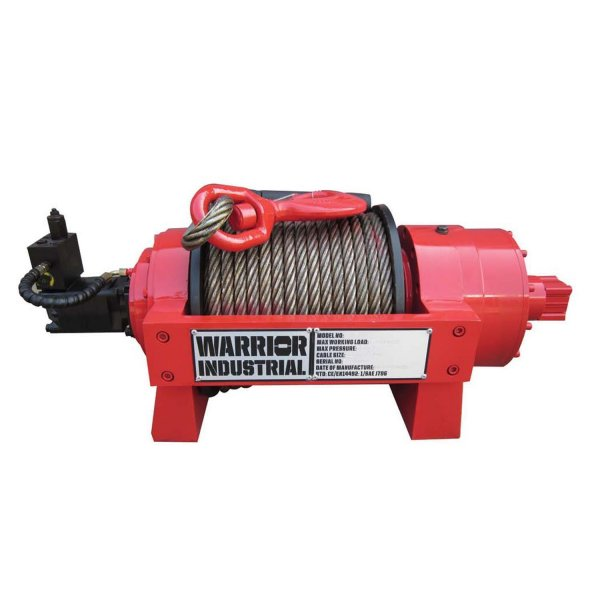 Warrior hydraulic Winch 15000NH 6,8t