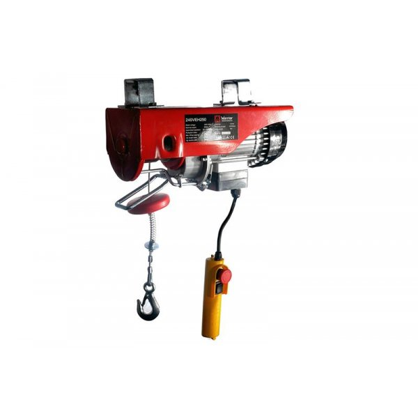 Professional Hoist Winch Black Motion® 990 kg 230 V