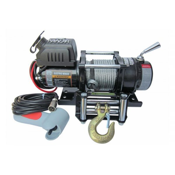 Quad/ATV Electric Winch Warrior C4500EWX 2 t 12 V