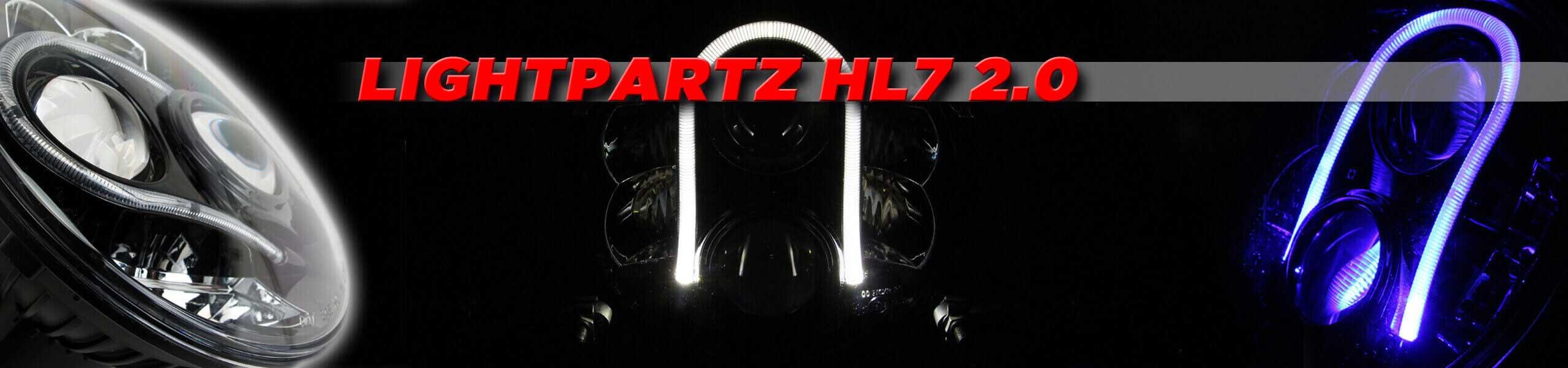 LIGHTPARTZ 7 Zoll